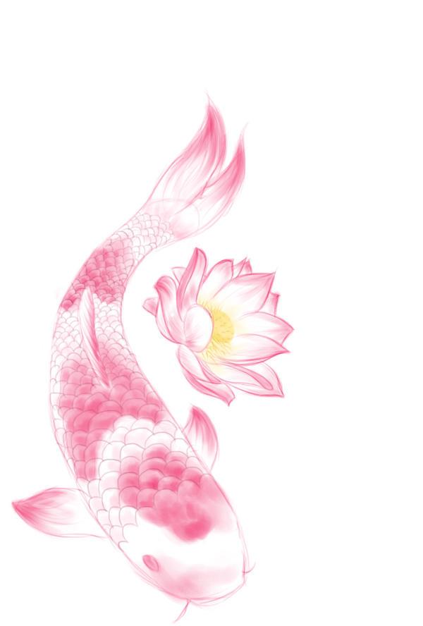 Koi And Lotus Tattoo Design By Sasukeroxmysox2 On Deviantart