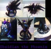 Obsidian the Phoenix Pony