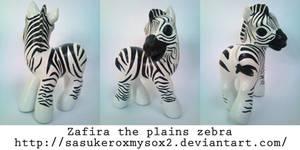 Zafira the Zebra