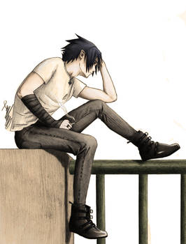Sasuke Waiting for death II