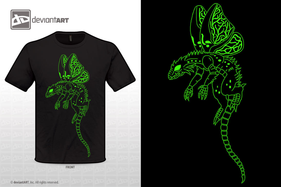 Insect Dragon T Shirt Design By 0parkp On Deviantart