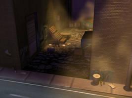 Street alley by Artful-Random