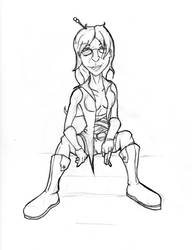 Sketch- Julia by Artful-Random