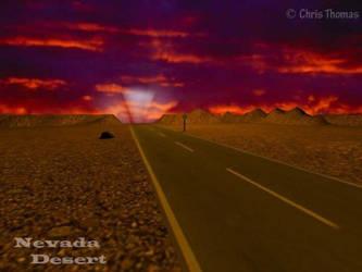 The Vegas Highway by Artful-Random