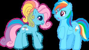 G4 Meets G3.5: Rainbow Dash