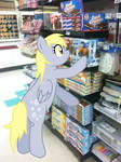 Derpy Grocery Shopping