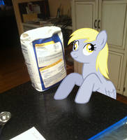 Derpy In The Kitchen by LudiculousPegasus