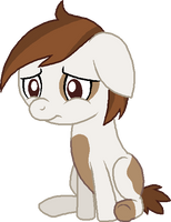 Sad Pipsqueak by LudiculousPegasus