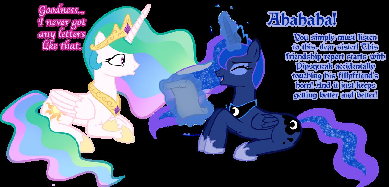 Luna S Friendship Report By Ludiculouspegasus On Deviantart