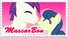 MascarBon Stamp by LudiculousPegasus