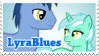 LyraBlues Stamp by LudiculousPegasus