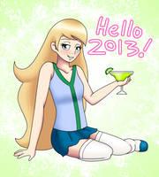Hello 2013 by LudiculousPegasus