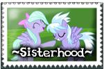 Sisterhood Stamp by LudiculousPegasus