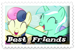 Friendship Stamp by LudiculousPegasus