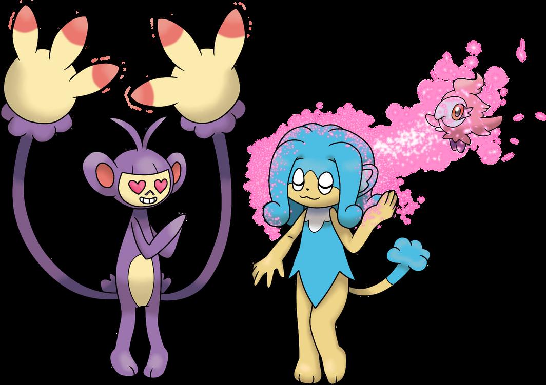 flabebe pokemon evolution chain - 1064×751