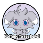 'Nothing To See Here' Espurr
