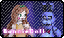BonnieDoll Stamp by LudiculousPegasus