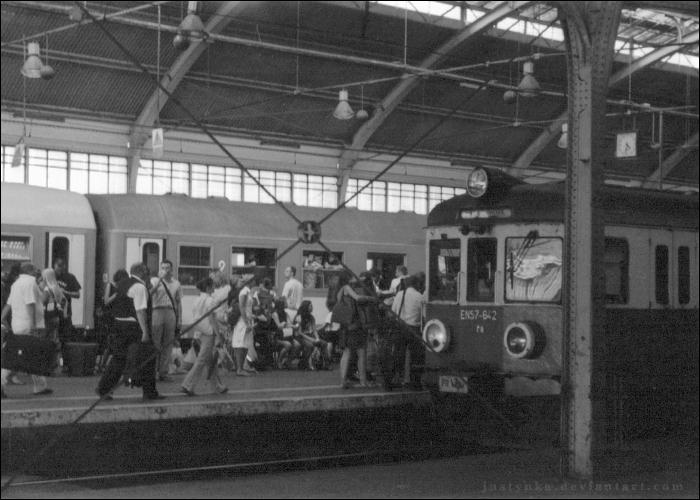 Railway station 36 by Justynka