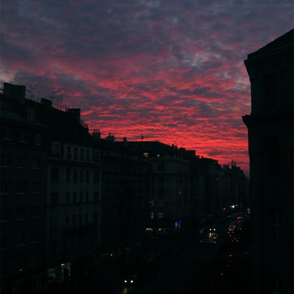 Zizkovske nebe by Justynka