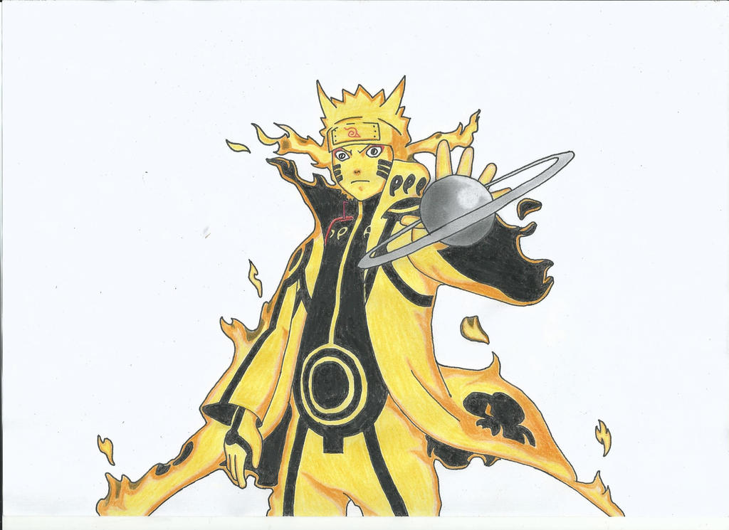 Naruto Bijuu Mode by oOPortgasDAceOo on DeviantArt