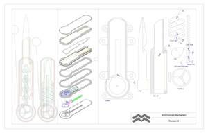 ACII Xiphoid V.0 Concept by TrapperMitch