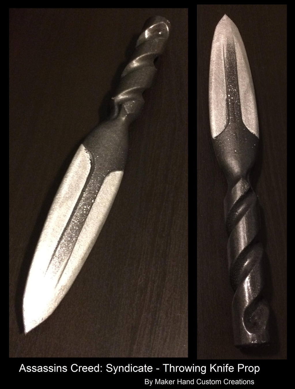 AC Syndicate Throwing Knife by TrapperMitch on DeviantArt