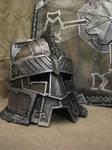 Moria battle helmet