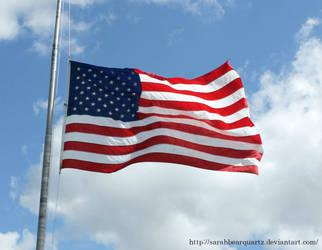 American Flag by SarahBearQuartz