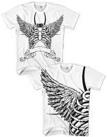 Winged bones t-shirts by PaulDoK