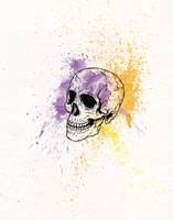 Splatter Skull by PaulDoK