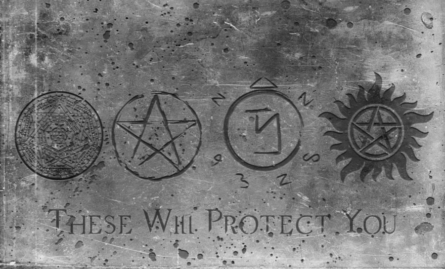 Group of Anti Possession Symbol Wallpaper