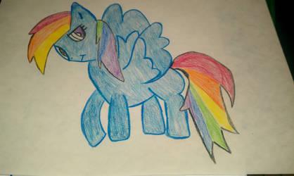 Deformed Rainbow Dash