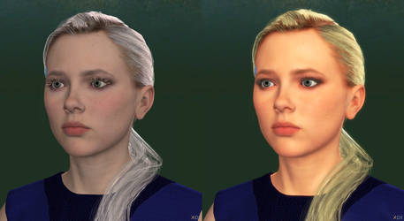 DBH Chloe before after SSS