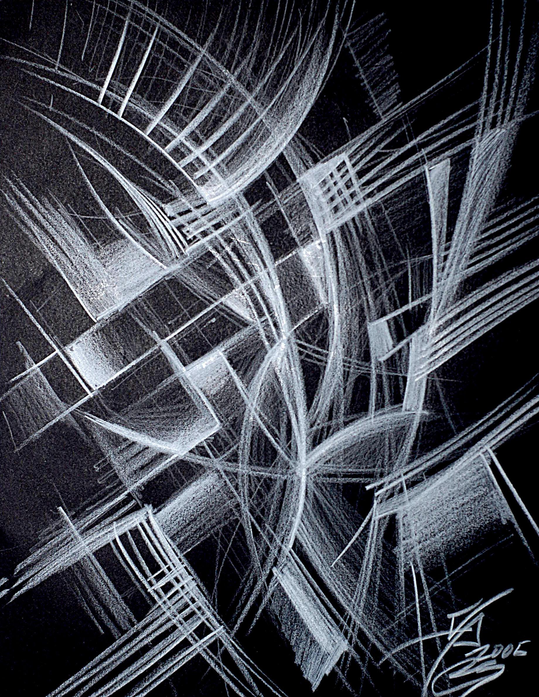 Abstract for Karen by CristoILDiablo