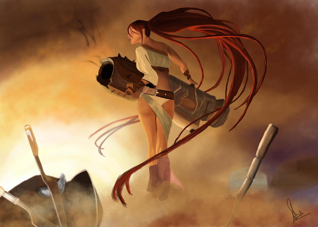 Nariko Heavenly Sword by Mayank-Singh on DeviantArt