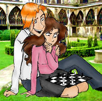 Ron+Hermione by Kilimac