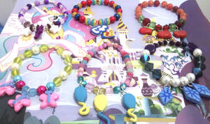 MLP FIM Cutie Mark Bracelets Mane 6