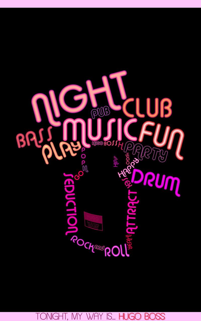 Hugo Boss 'Night club' by Noem9