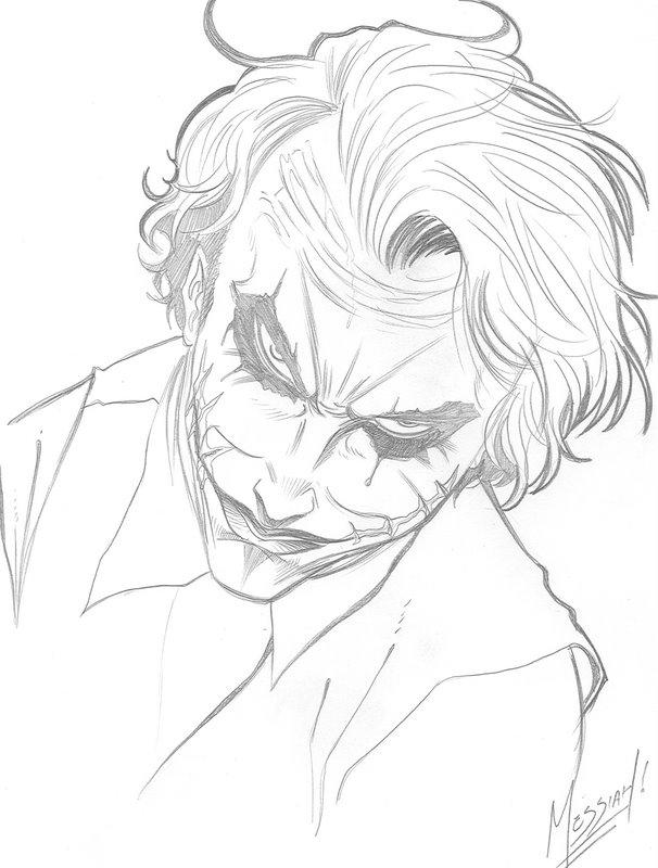 The Joker Line Art : The joker two by edermessiah on deviantart