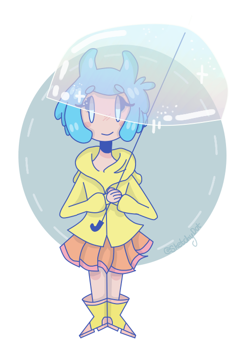-the puddle smol- [AT] by SketchyDot