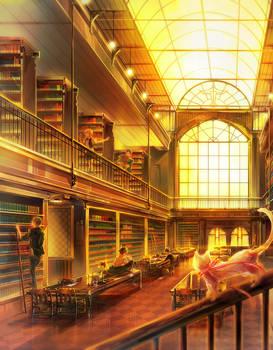 Free!: Iwatobi Library