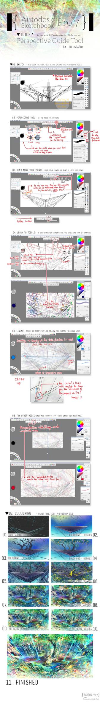 AUTODESK TUTORIAL- Perspective Guide Tool by LuluSeason