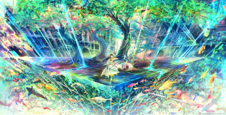 Underwater Garden [for Autodesk Tutorial] by LuluSeason