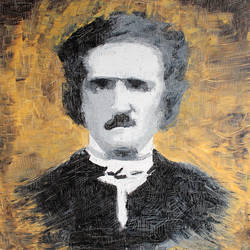 E.A.Poe 60x60 cm by galex89