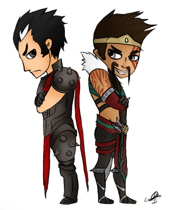 Draven and Darius by D-Dragons on DeviantArt