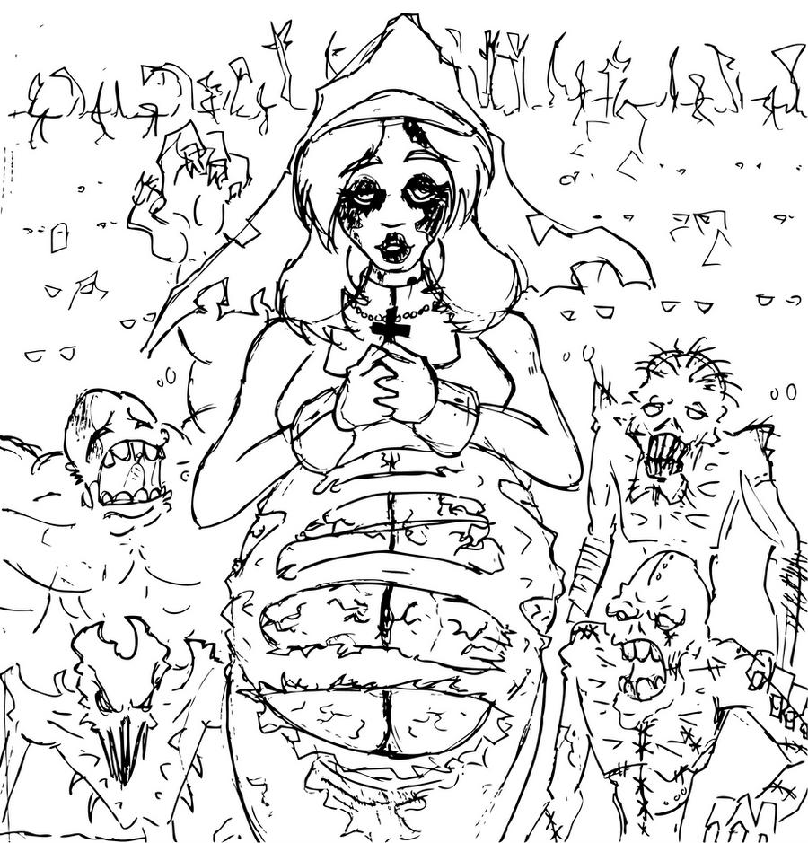 Impreg Comics Amazing zombie pregnant nunzihilism on deviantart