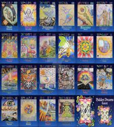 Hidden Dreams Tarot - the Major Arcana complete