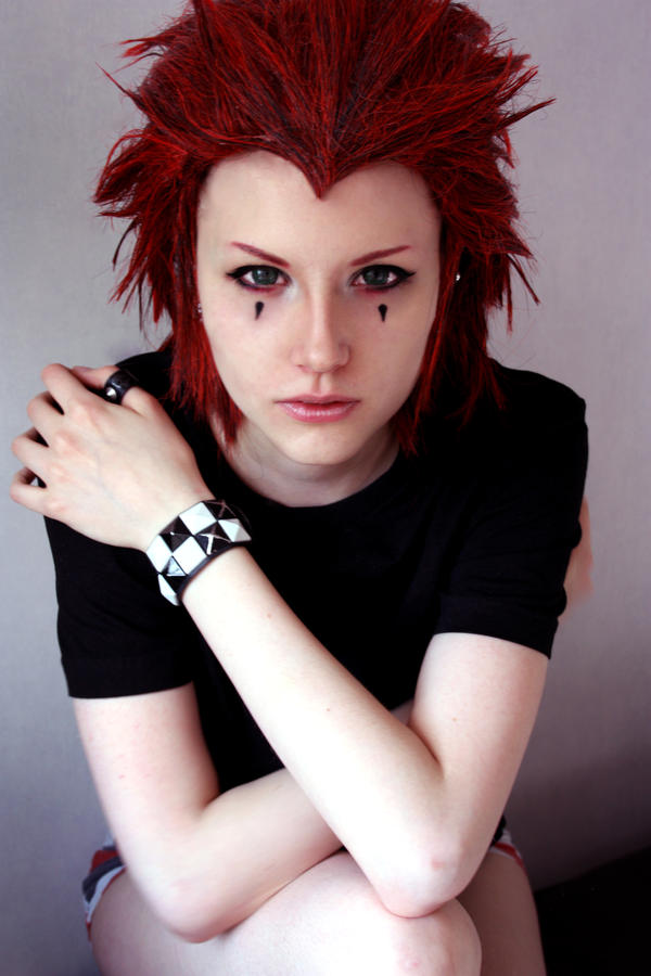 Axel Kingdom Hearts - So darkness I became by TheCarebearFag