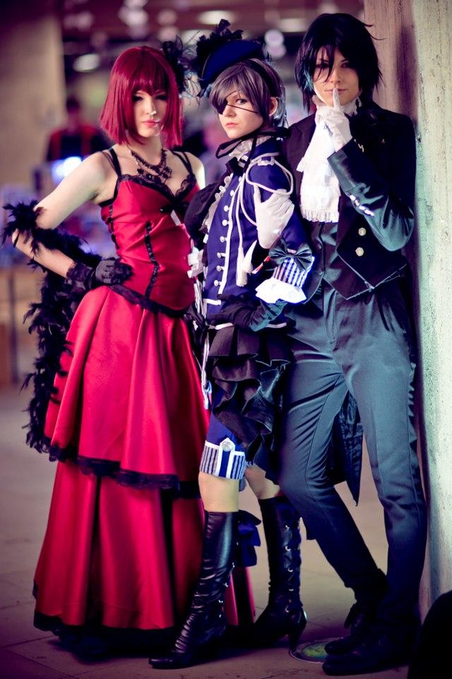 Let us keep it a secret - Kuroshitsuji cosplay by TheCarebearFag