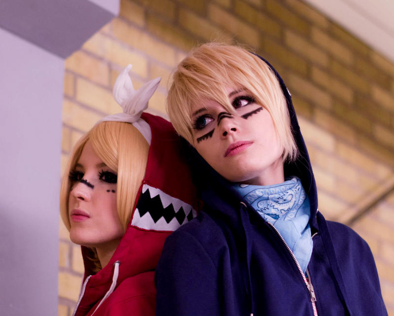 Len and Rin Kagamine - Matryoshka by TheCarebearFag